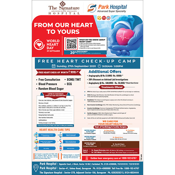 Free Heart Check-up Camp