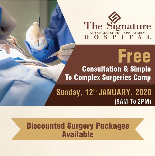 Free Consultation & Simple to Complex Surgeries Camp